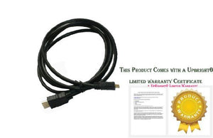 UPBRIGHT HDMI HDTV Audio Video Cable Cord for Androra D702 Touch Screen Android Tablet PC