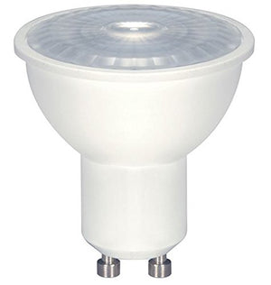 12 Pack - Satco 6.5 watt; LED MR16 LED; 5000K; 40' beam spread; GU10 base; 120 volts - S9385
