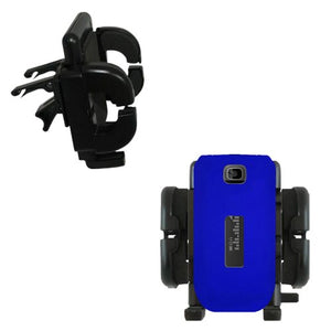 Gomadic Air Vent Clip Based Cradle Holder Car/Auto Mount Suitable for The Alcatel One Touch 768T