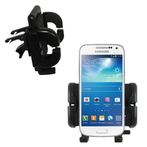 Innovative Vent Cradle Vehicle Mount Designed for The Samsung Galaxy S4 Mini - Adjustable Vent Clip Holder for Most Car/Auto Vent Systems