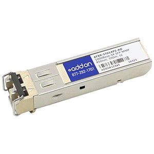 Add-onputer Peripherals, L AFBR-5701APZ-AO Avago SFP Transceiver Provides 1000Base-SX
