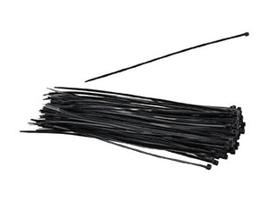 Nippon Labs CT-14S-BK 14-Inch Standard Cable Ties, Black 100-Pieces/Bag
