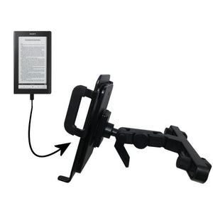 Gomadic Brand Unique Vehicle Headrest Display Mount for The Sony PRS-900 Reader Daily Edition