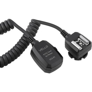 Vello Off-Camera TTL Flash Cord for Pentax Cameras (3')(6 Pack)