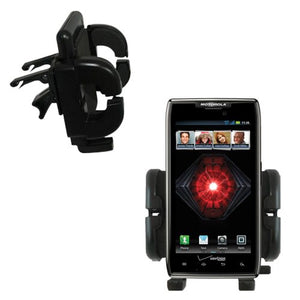 Gomadic Air Vent Clip Based Cradle Holder Car/Auto Mount Suitable for The Motorola Droid MAXX