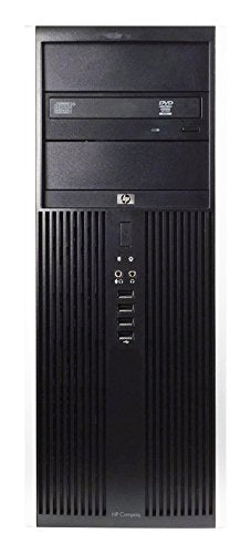 HP 8100 Business High Performance Tower Desktop Computer PC (Intel Core i5 650 3.2G,4G DDR3,500G,DVD,Windows 10 Professional) - Black/Silver - 16VFHPDT0504(Renewed)