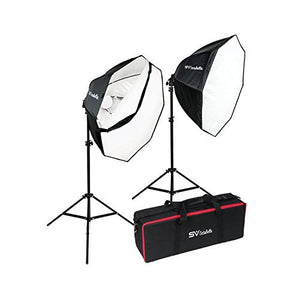 Smith Victor OctaBella 1000W 2-LED Light Softbox Kit