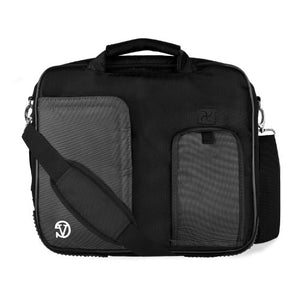 (Onyx) Shoulder Bag For HP Pavilion, Stream, Split, X2, X360, EliteBook, ChromeBook, 11 to 13.3 inch Laptops