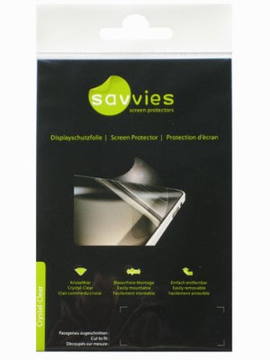 Savvies Crystal-Clear SCREEN PROTECTOR for Sony Walkman NWZ-A828, 100% fits, Display Protection Film, Protective Film