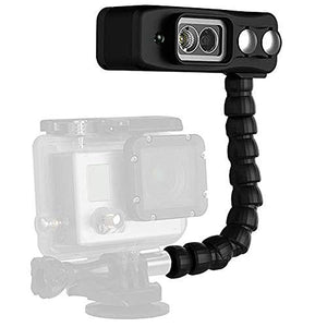 Light and Motion Sidekick Black Duo light for GoPro W/ Dive Arm