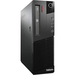 2017 Lenovo ThinkCentre M83 High Performance Business Small Factor Desktop Computer, Intel Core i5-4570 3.2GHz, 8GB RAM, 500GB HDD, WiFi, Windows 10 Professional (Renewed)
