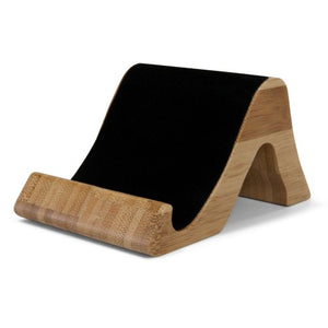 BoxWave HTC Droid DNA Bamboo Stand, Premium Bamboo, Real Wood Stand for your HTC Droid DNA