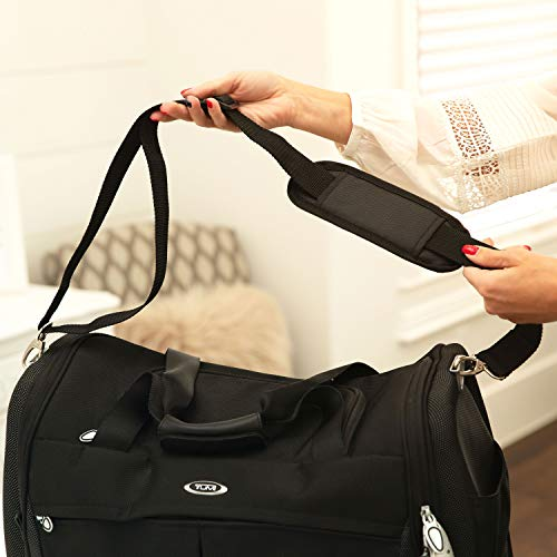 Bag Replacement Shoulder Strap | Padded & Adjustable   Perfect For Duffle Bags, Laptop Bags, Briefca