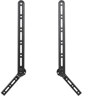 VIVO Universal Sound Bar Steel Bracket Speaker Mount Above or Below Wall Mounted TV, Fits Behind 23 to 65 inches Screens, 33 lbs. Capacity, Mount-SPSB2