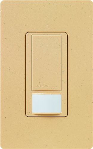Lutron Maestro Motion Sensor switch, no neutral required,  600 Watts Single-Pole/Multi Location, MS-OPS5M-GS, Goldstone