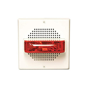Speaker, 25/70 Vrms, Red, 5-1/8 in. H