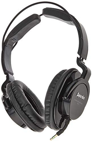 Superlux HD-661 Professional Closed-Back Studio Headphones (Black)
