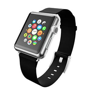 Incipio Apple Watch 38mm Premium Leather Watchband - Ebony