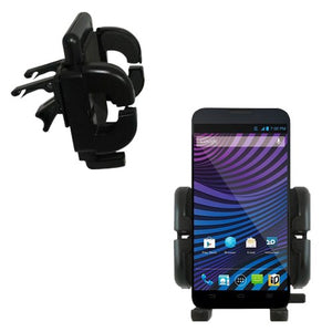 Gomadic Air Vent Clip Based Cradle Holder Car/Auto Mount Suitable for The ZTE Vital