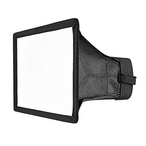 Neewer 6 x 5 inches/15 x 12.5 centimeters Translucent Softbox for Canon Nikon and Other DSLR Cameras Flashes,Neewer TT560 TT850 TT860 NW561 NW670 VK750II Flashes
