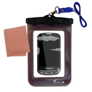 Gomadic Outdoor Waterproof Carrying case Suitable for The Samsung SPH-M930 to use Underwater - Keeps Device Clean and Dry