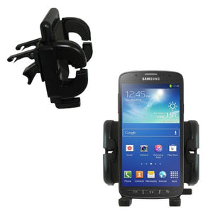 Gomadic Air Vent Clip Based Cradle Holder Car/Auto Mount Suitable for The Samsung Galaxy S 4 Active