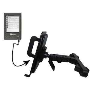 Gomadic Brand Unique Vehicle Headrest Display Mount for The BeBook One