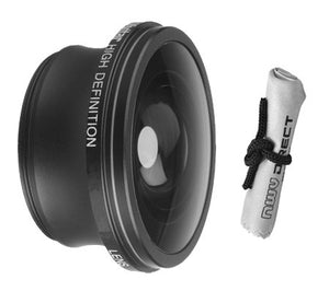 2.2x Teleconverter Lens For Olympus Tough TG-2 iHS + Nwv Direct Microfiber Cleaning Cloth (Includes Necessary Lens Adapters)