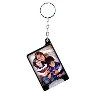 Snapins Black Mini Photo Flashlight Keychain - Case of 72