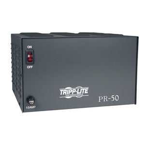 Tripp Lite PR50 DC Power Supply 50A 120V AC Input to 13.8 DC Output TAA GSA