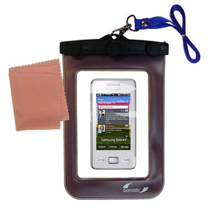 Gomadic Outdoor Waterproof Carrying case Suitable for The Samsung Star II to use Underwater - Keeps Device Clean and Dry