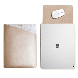 WALNEW 13.5 Inch Microsoft Surface Book 3/2/1 Protective Soft Sleeve Case, 13.5
