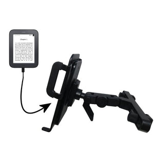 Unique Highly Adjustable Car/Auto Headrest Mount for The Barnes and Noble Nook Original eBook eReader by Gomadic
