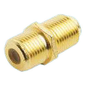 Glomex RA163 Gold Female F Barrel Connector
