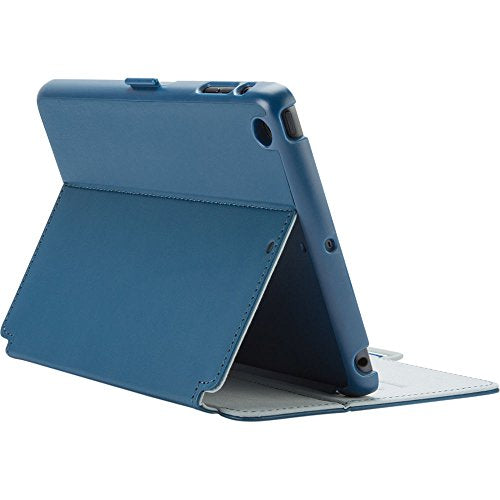 Speck Products StyleFolio Case for iPad Mini/2/3 - Deep Sea Blue/Nickel Grey (Does not fit iPad mini 4)