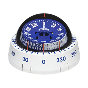 Ritchie XP-98W X-Port Tactician153; Compass - Surface Mount - White Marine , Boating Equipment