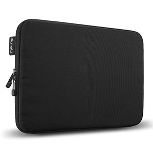 Runetz - MacBook Pro 13 inch Sleeve Soft Laptop Sleeve 13 inch MacBook Air 13 inch Sleeve Notebook Computer Bag Protective Case Cover with Zipper - Black