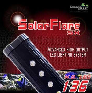 Deep Blue Professional ADB42736 36-Inch Solarflare Single LED Lighting Strips for Aquarium, 18 by 3-watt