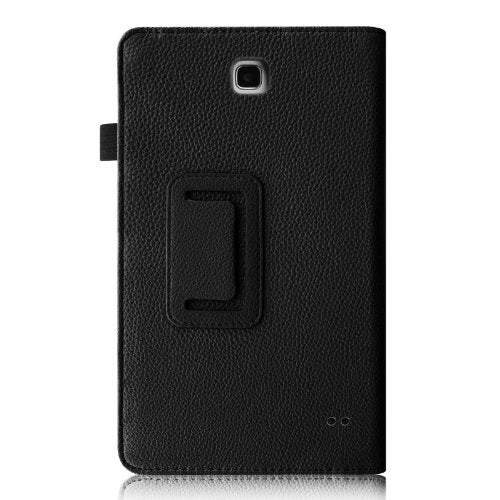 Fintie Folio Case for Samsung Galaxy Tab 4 7.0 - Slim Fit Premium Vegan Leather Cover for Samsung Tab 4 7-Inch Tablet, Black