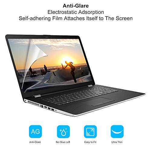 "[2 Pack] FORITO 17.3"" Anti Glare Screen Protector Compatible with All Brands of 17.3"" with 16:9 Aspect Ratio Display Laptop"
