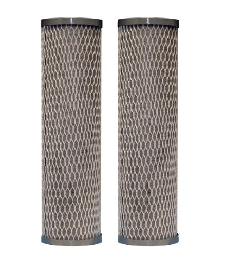 Du Pont Wfpfc8002 Universal Whole House Carbon Wrap 2 Phase Cartridge, 2 Pack
