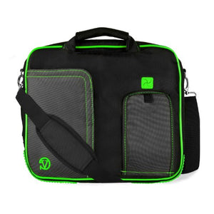 (Lime) Shoulder Bag For HP Pavilion, Stream, Split, X2, X360, EliteBook, ChromeBook, 11 to 13.3 inch Laptops