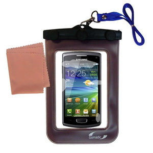 Gomadic Outdoor Waterproof Carrying case Suitable for The Samsung Wave 3 to use Underwater - Keeps Device Clean and Dry