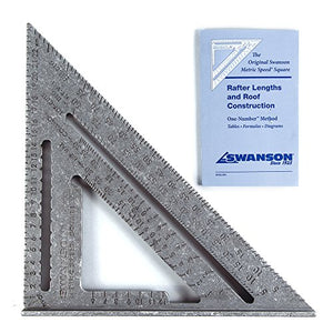 Swanson NA202 Metric Speed Square Layout Tool (Aluminum)