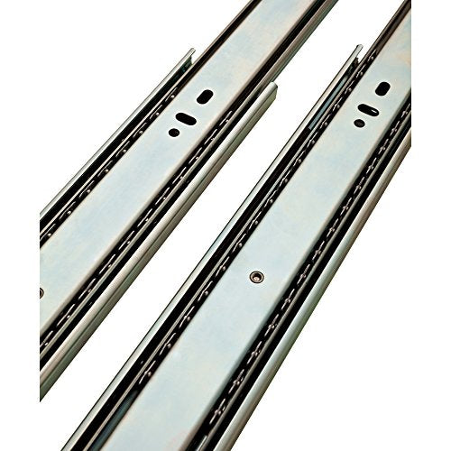 LIBERTY 942205 Pair of Soft-Close Ball Bearing Drawer Slide, 22-Inch