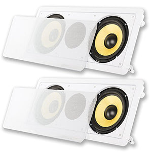 Acoustic Audio HD-6c Flush Mount Speakers Dual 6.5