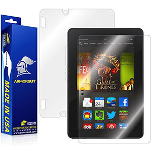 Armor Suit Military Shield Full Body Skin Film + Screen Protector For Amazon Kindle Fire Hdx 7