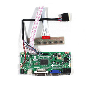VSDISPLAY HDMI VGA DVI Audio LCD Driver Board for 10.1