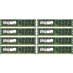 64GB KIT (8 x 8GB) for Dell PowerVault Series NX300. DIMM DDR3 ECC Registered PC3-12800 1600MHz Dual Rank RAM Memory. Genuine A-Tech Brand.