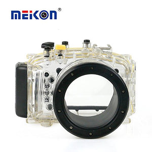 Meikon waterproof camera case for Panasonic GF5 (14-42mm), rain cover, weather cover